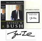 George W Bush Decision Points Hand Signed by President Bush