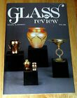 LCT Tiffany Art Glass Favrile / Glass Review Cover / Durand Pulled Feather Vase