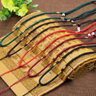 Hot 2Pcs Handmade Braided Line Rope String Cord Jade Beads for Pendant Necklace
