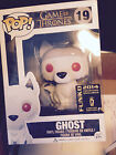 SDCC 2014 FUNKO POP GAME OF THRONES FLOCKED GHOST EXCLUSIVE VARIANT SOLD OUT