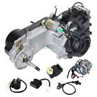 GY6 4 Stroke 150cc Scooter Motorcycle ATV Dirt Bikes Engine w Kick Start Lever