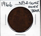 1966 Newfoundland Come Home Year Counterstamped 1939 GB Penny