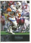 2011 UD College Legends #39 THURMAN THOMAS Auto Oklahoma State Cowboys Bills