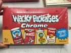 2014 Topps Wacky Packages Chrome Sealed Hobby Box (Auto Sketch Cards)