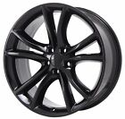 20 DODGE CHARGER CHALLENGER RT BLACK WHEEL RIM FACTORY OEM 2016 2017 2018 2545