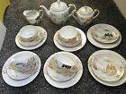 Vintage Japanese KUTANI Meijyo China Tea Set 19 Pieces