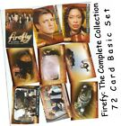Firefly: The Complete Collection - 72 Card Basic Base Set - Inkworks 2006