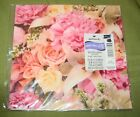 Hallmark Floral Flowers Roses Any Occasion Gift Wrap Paper NIP