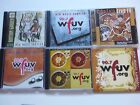 LOT OF 12 WFUV 90.7 CD COMPILATIONS