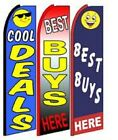 Cool Deals  Best Buys Here King Size Swooper Flag Sign W Complete 3 Set