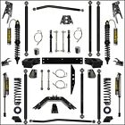 Rock Krawler 25 Off Road Pro Long Arm Coil Over Stage 2 07 16 Jeep JKU 4D