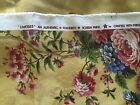 Waverly Limoge Golden Yellow Floral Home Decor Upholstery Fabric 2 plus yards