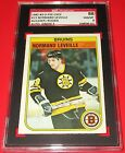 1982-83 O-Pee-Chee Normand Leveille Signed Rookie Card SGC 88 NM MT 8 Auto 7 RC