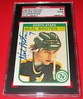 1982-83 O-Pee-Chee Neal Broten Signed Rookie Card SGC 80 EX NM 6 Auto 7 Stars RC