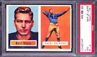 1957 Topps BART STARR RC #119 Football Card PSA GRADED 7 NM-COND SUPER HOT CARD!