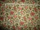Vintage 1970's Waverly  Bonded Scrap Fabric/Material.
