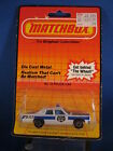 Matchbox No 10 Police Car