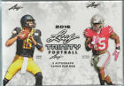 2016 Leaf Trinity Football Factory Sealed Hobby Box