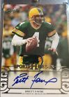 2016 LEAF SPORTS HEROES BRETT FAVRE AUTO AUTOGRAPH PACKERS