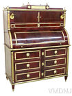 VMD96-Antique Russian Neoclassical Style Cylinder Desk