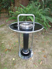 1930S VINTAGE WOLFGANG HOFFMAN ART DECO ASHTRAY STAND / HOWELL CHROME
