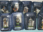 DeAgostini Spain 54mm 1:32 MEDIEVAL 12th CENTURY FOOT KNIGHTS 14 Figure Set MISB