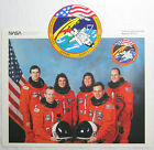 Space Shuttle Endeavour Mission STS 57 Crew Photo and Insignia Sticker NASA
