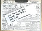 1933 early Chrysler Imperial Custom EIGHT CL-Silver Dome Head AEA Tune Up Chart