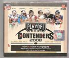 2008 Playoff Contenders Football Hobby Box Factory Sealed 24 packs 4 Autographs