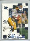 1999 UD SP Signature Edition #KW KELLEN WINSLOW Auto San Diego Chargers