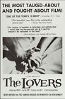 LOVERS LES AMANTS one sheet movie poster 27x41 JEANNE MOREAU LOUIS MALLE