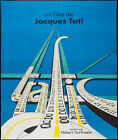 TRAFIC TRAFFIC French Grande movie poster 47x63 120x160 JACQUES TATI FERRACCI