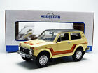 MCG 1976 Lada Niva Beige and Brown color in 1 18 Scale New Release In Stock