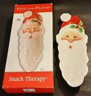 2005 FITZ AND FLOYD SANTA CLAUS SNACK THERAPY SANTA SERVER 2063/382 CHINA W/BOX