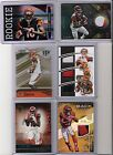 12x Lot Andy Dalton AJ Green Jeremy Hill Rc SP Patch Immaculate Elite Bengals