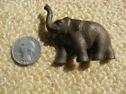VINTAGE CAST IRON ELEPHANT PAPERWEIGHT - OLD AND VERY SMALL