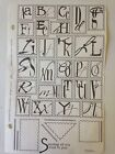 Club Scrap Unmounted Rubber Stamps 2004 To You With Love Fonts Postage