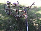 Columbia Tandem Bicycle Barn Find Wall Art Local Long Island NY Pickup ONLY