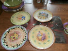 SANGO TUSCAN GARDENS SET OF 4 SALAD PLATES