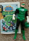 Vintage Super Powers Green Lantern Figure with Comic Kenner 1985