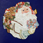 Fitz and Floyd Enchanted Holiday Canape Plate- New in Box- 19/1452
