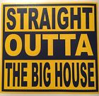 University Of Michigan The Big House 5x55 Decal Free Shipping