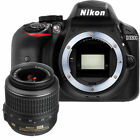 NEW Nikon D3300 242 MP CMOS Digital SLR + 18 55mm f 35 56G AF P DX VR Lens