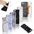 Ultra Slim Marble Pattern Rubber Soft TPU Case Cover for iPhone X 6 7 8 Plus