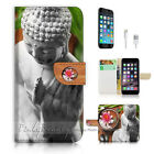 ( For iPhone 7 Plus ) Wallet Case Cover P1885 Buddha
