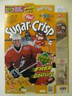 WAYNE GRETZKY OPENED SUGAR CRISP CEREAL BOX - ENGLISH AND FRENCH PRINTING