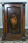 Antique Renaissance Revival Rosewood Victorian Music Cabinet Circa Early 1900s
