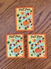 Fall Fun Patches for Girl Scouts lot of 3