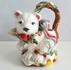 Fitz & Floyd ENCHANTED HOLIDAY polar bear creamer Perfect!