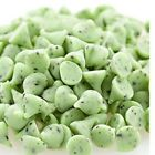 Green Mint Chocolate Chips Mint Flavored Confectionary Drops 5 pounds